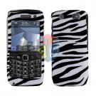 FOR BLACKBERRY PEARL 3G 9100 9105 COVER HARD CASE ZEBRA