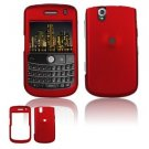 FOR BLACKBERRY BOLD 9650 COVER HARD CASE RED