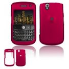 FOR BLACKBERRY BOLD 9650 COVER HARD CASE ROSE PINK