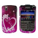 FOR BLACKBERRY BOLD 9650 COVER HARD CASE LOVE