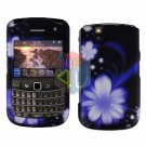 FOR BLACKBERRY BOLD 9650 COVER HARD CASE B-FLOWER