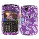 FOR BLACKBERRY BOLD 9650 COVER HARD CASE P-FLOWER
