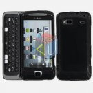 FOR HTC T-Mobile G2 Cover Hard Case Rubberized Black
