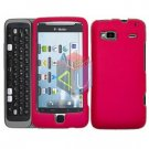 FOR HTC T-Mobile G2 Cover Hard Case Rubberized Rose-Pink