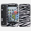 FOR HTC Desire Z Cover Hard Case Zebra