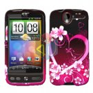FOR HTC Desire Cover Hard Case Love