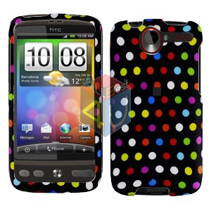 FOR HTC Desire Cover Hard Case R-Dot