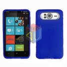 FOR HTC HD7 HD 7 Silicon cover soft case Blue