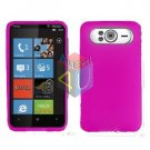 FOR HTC HD7 HD 7 Silicon cover soft case H-Pink