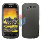 FOR HTC MyTouch 4g Silicon cover soft case Smoke + Screen