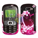 For LG Octane VN530 Cover Hard Case Love