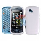 For LG Neon 2 GW370 Cover Hard Case White