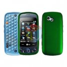 For LG Rumour Plus GW370 Cover Hard Case Green