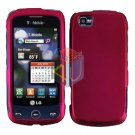 For LG Sentio GS505 Cover Hard Case Rose Pink