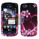 For LG Cookie Plus GS500 Cover Hard Case Love