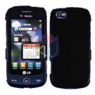 For LG Cookie Plus GS500 Cover Hard Case Black