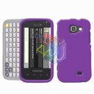 For Samsung Transform M920 Protector Screen + Cover Hard Case Purple