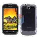 For T-Mobile Mytouch 4g Protector Screen + Cover Hard Case Clear