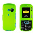 For LG Cosmos VN250 Cover Hard Case Neon Green