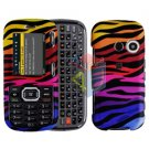 For LG Cosmos VN250 Cover Hard Case C-Zebra