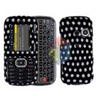 For LG Rumor2 Rumour 2 UX265 Cover Hard Case Polka Dot