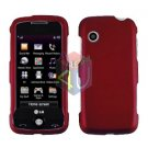 For LG Prime GS390 Cover Hard Case Red