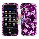 For LG Prime GS390 Cover Hard Case P-Flower