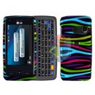 For LG Rumor Touch LN510 Cover Hard Case Rainbow