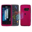 For LG Banter Touch UN510 Cover Hard Case Rose Pink