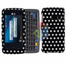 For LG Banter Touch UN510 Cover Hard Case Polka Dot