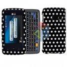 For LG Banter Touch UN510 Cover Hard Case Polka Dot