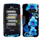 For LG Banter Touch UN510 Cover Hard Case Flower