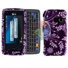 For LG Banter Touch UN510 Cover Hard Case P-Flower