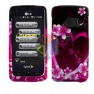 For LG Banter Touch UN510 Cover Hard Case Love