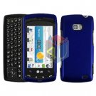 For LG Ally VS740 Cover Hard Case Blue