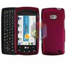 For LG Ally VS740 Cover Hard Case Rose Pink
