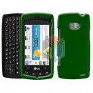 For LG Ally VS740 Cover Hard Case Green