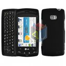 For LG Apex US740 Cover Hard Case Black