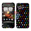 For HTC Droid incredible Cover Hard Case R-Dot