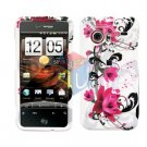 For HTC Droid incredible Cover Hard Case W-Flower