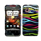 For HTC Droid incredible Cover Hard Case Rainbow