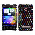 For HTC Evo 4G Cover Hard Case R-Dot