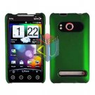 For HTC Evo 4G Cover Hard Case Rubberized Green