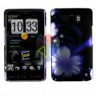For HTC HD2 HD 2 Cover Hard Case B-Flower