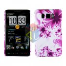 For HTC HD2 HD 2 Cover Hard Case H-Flower