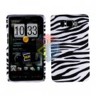 For HTC HD2 HD 2 Cover Hard Case Zebra