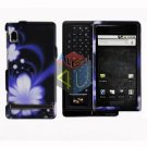 For Motorola Droid A855 Cover Hard Case B-Flower