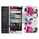 For Motorola Droid 2 A955 Cover Hard Case W-flower