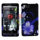 For Motorola Droid X mb810 Cover Hard Case B-Flower