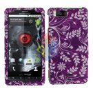 For Motorola Droid X mb810 Cover Hard Case P-Flower